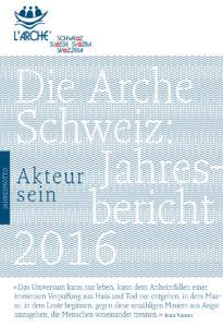 Bericht Arche Schweiz 2016