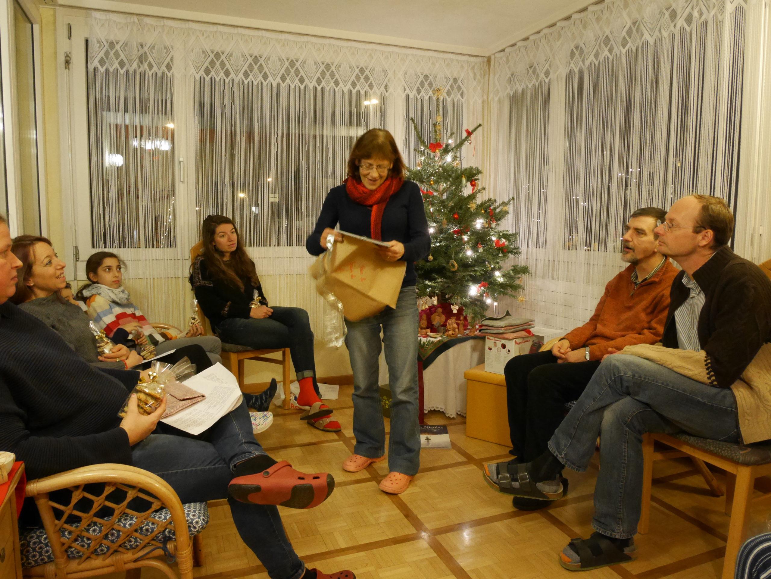 Fête de Noël dans les foyers