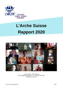 Rapport 2020 Arche Suisse