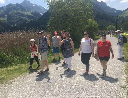 Unterwegs am Schwarzsee-die Arche wandert
